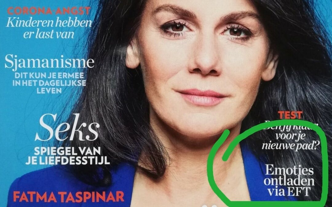 Artikel van 4 pagina's over EFT in PSYCHOLOGIES!